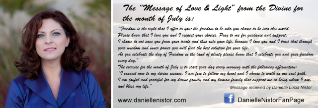 The Message of Love and Light - July 2015
